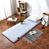 SL&CL Student Dormitory Mattress,90cm Single Bed dice Thicked Warm Tatami 1.2 m Soft Floor mat futon Mattress Topper Foldable Cushion mats-B 120x200cm(47x79inch)