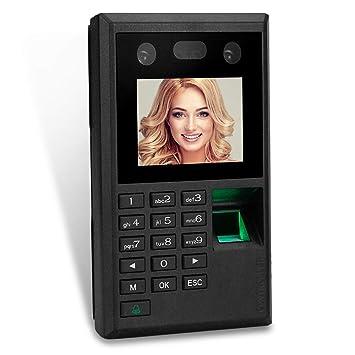 """HFeng 2.8""""TFT Máquina de Asistencia de Huellas Dactilares faciales USB Empleado biométrico Registro de"""