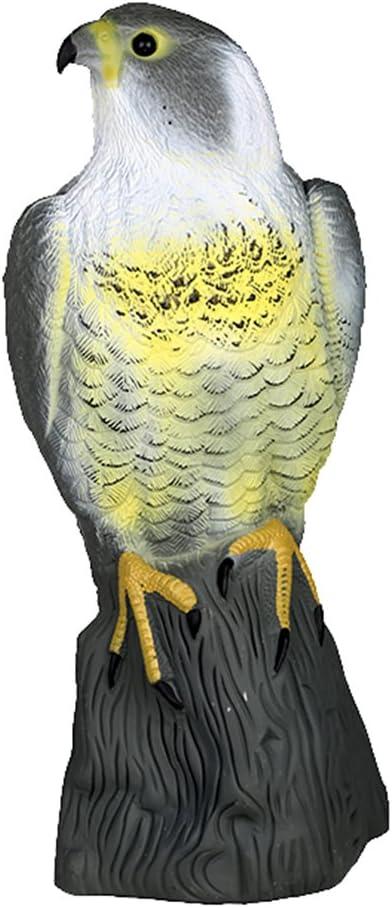 Control de Plagas Modelo Estatua de Gato Halcón Susto Scarer Conejo Repelente de Aves