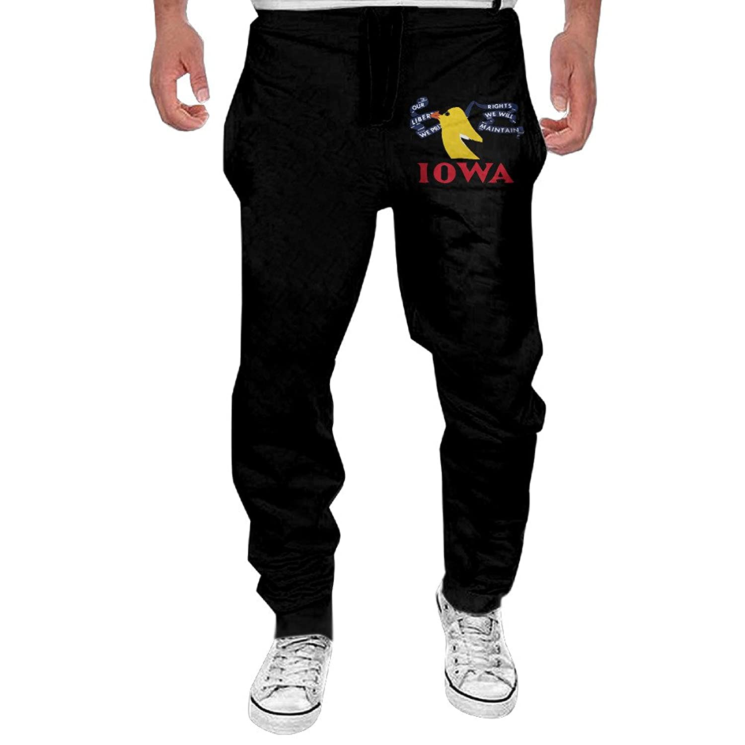 a530841706 Winter Men Casual Iowa Eastern Goldfinch Sweat Pant Closed Bottom  well-wreapped