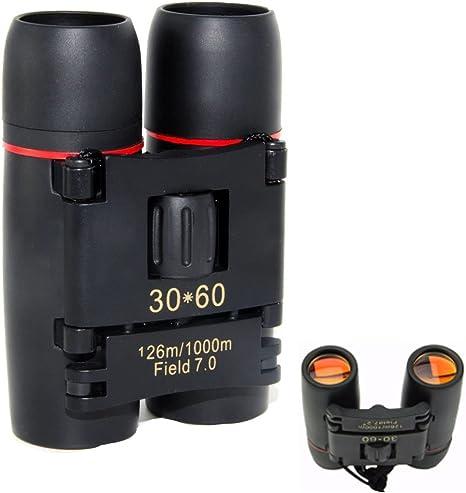 Campeggio 30x60 Binocolo Visione Notturna Giorno Zoom Telescopio 126-1000m