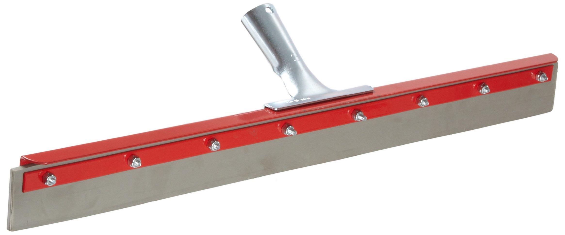 Haviland 1424 EPDM Rubber Non-Marking Heavy Duty Floor Squeegee, 24'' Length, Gray