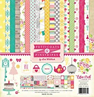 Echo Park Paper Company PC103016 Girl Petticoats & Pinstripes 12x12 Collection Kit