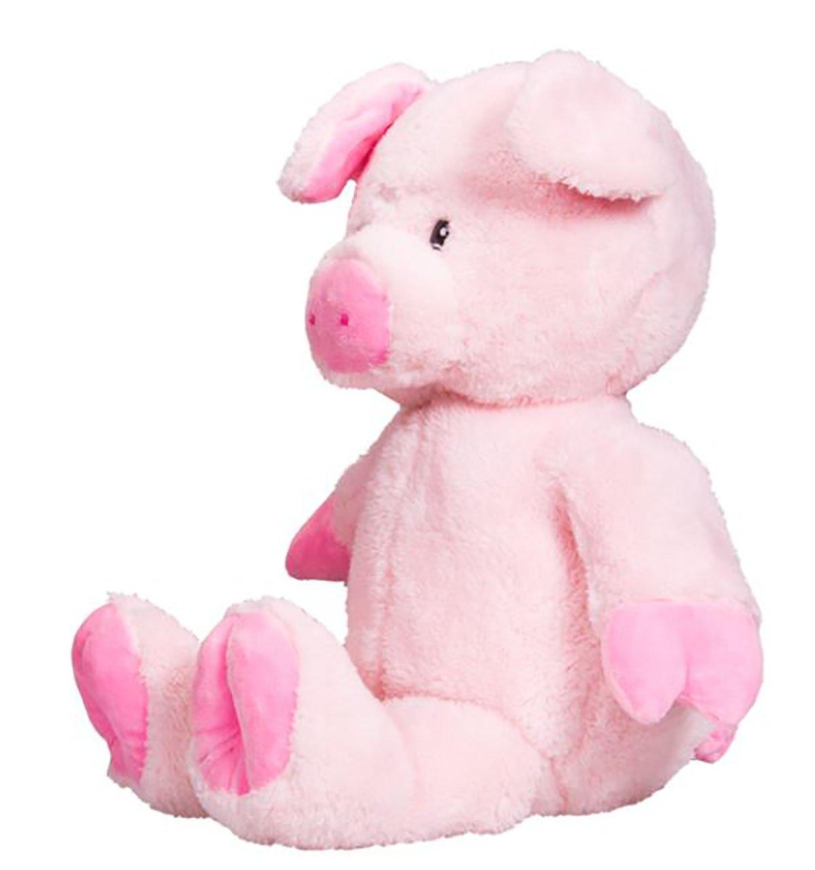 Teddy Mountain Cuddly Soft 16 inch Stuffed Pink Pig...We stuff em...you love em