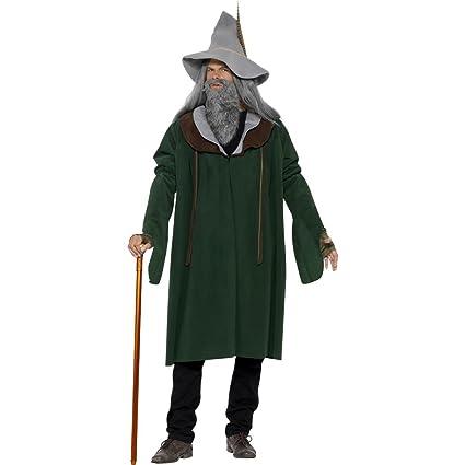 Disfraz de mago Gandalf bosque disfraz de mago M 48/50 ...