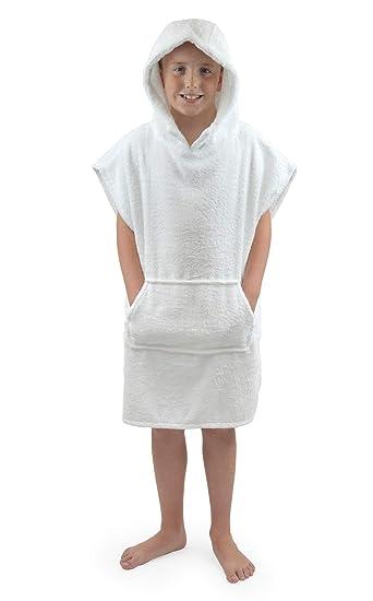 Royaume-Uni adulte homme Changing Peignoir Serviette De Bain à Capuche Serviette de plage poncho peignoir serviette
