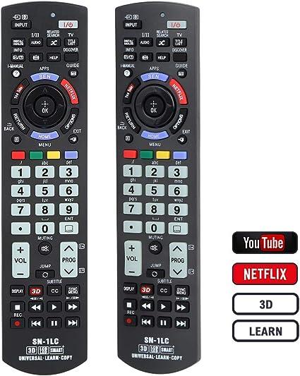 Alkia SN-1LC - Mando a Distancia Universal Luminoso para Sony Bravia TV/LEARN/HDTV/3D/LCD/LED, Funciona con Todos los televisores Sony (LED, LCD, Plasma): Amazon.es: Electrónica