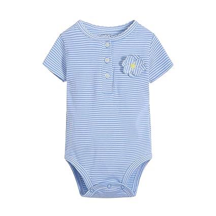 Mameluco Bebé Niña - Pijamas Bebé Peleles Algodón Mameluco Niñas Monos Bebé Body Manga Corta Trajes