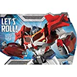 "Amscan Mighty Transformers Birthday Party Postcard Invitation Kit (8 Pack), 6"" x 4"", Red/Blue"