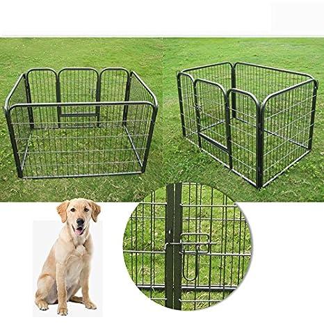 ställe unidad mascotas perro gato übung Valla rectangular: Amazon.es: Productos para mascotas