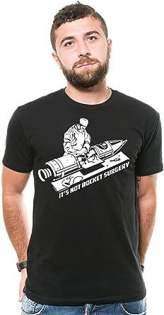 Silk Road Tees Cirugía Divertida del Friki Camiseta Rocket Camisa Divertida de los Hombres de Regalo de Cumpleaños Camiseta: Amazon.es: Ropa y accesorios