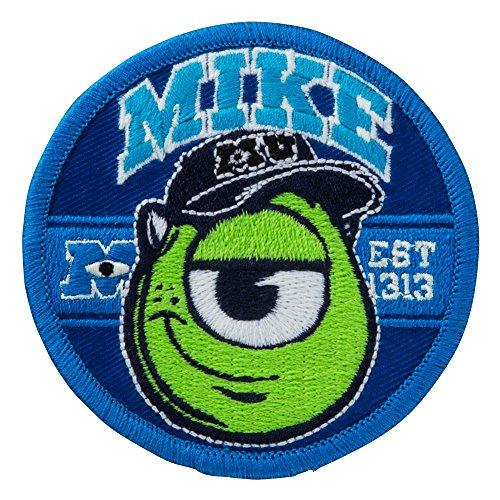 ミノダ モンスターズユニバーシティワッペン アイロン・シール両用 MU マイクフェイス D01Y5855の商品画像