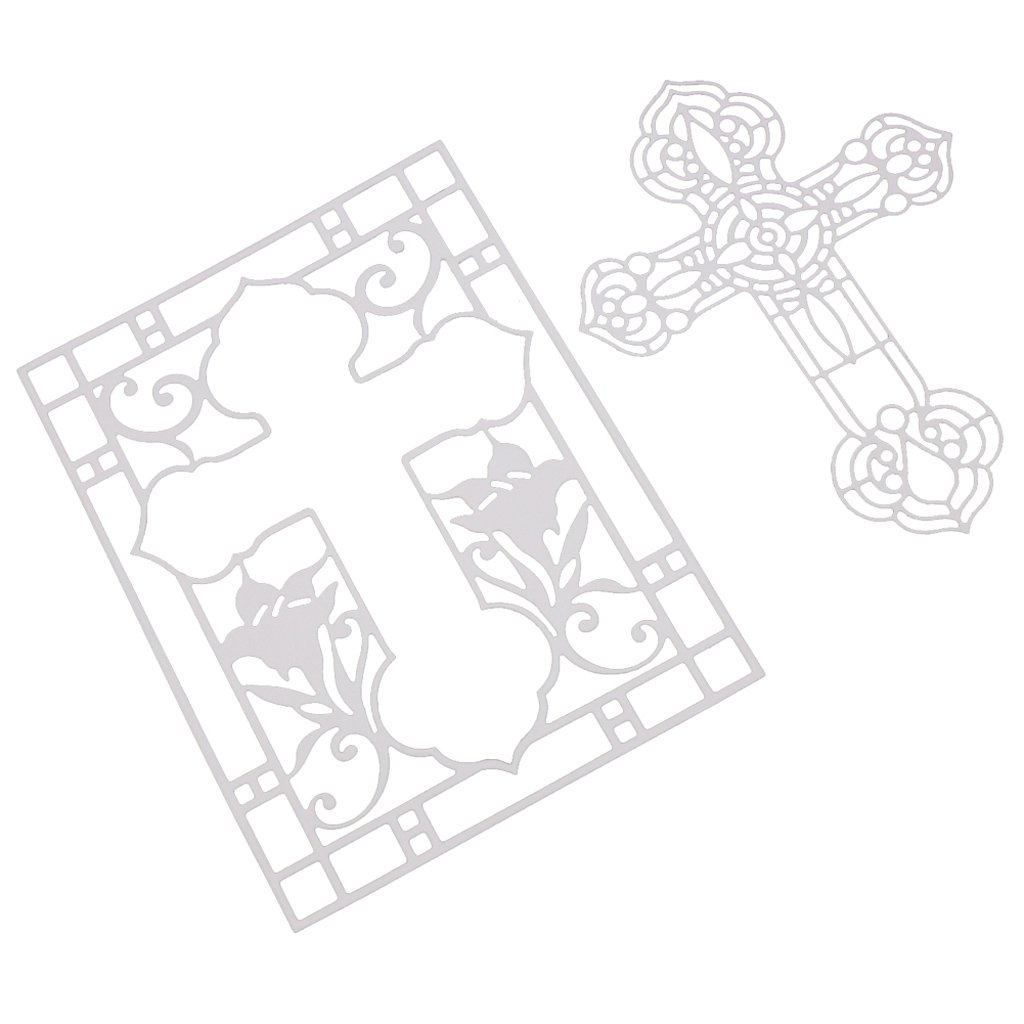 Thobu Cross Cutting Dies Stencil For DIY Scrapbooking Embossing Album Paper Card Craft