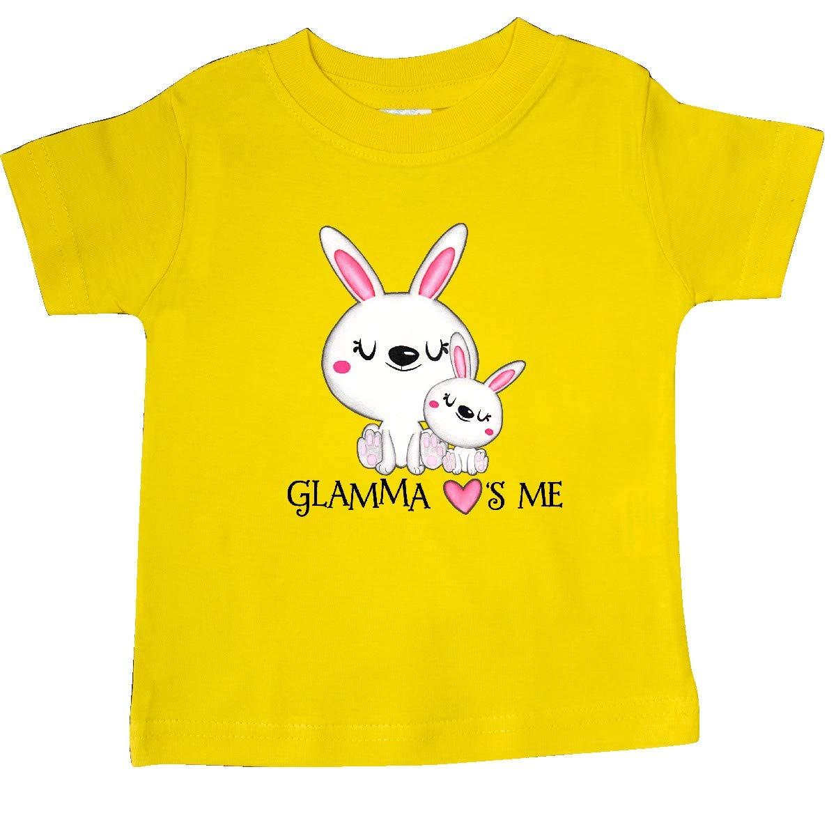 inktastic Glamma Loves Me Bunny Family Baby T-Shirt