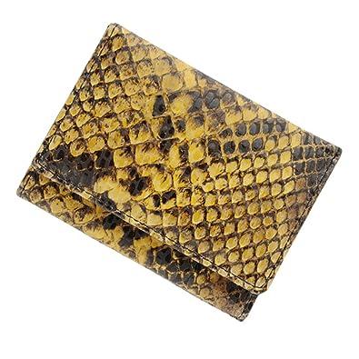 0bf62d375255 極小財布(ピッグスエード/ルーチェ)ベーシック型小銭入れ パイソン BECKER(ベッカー