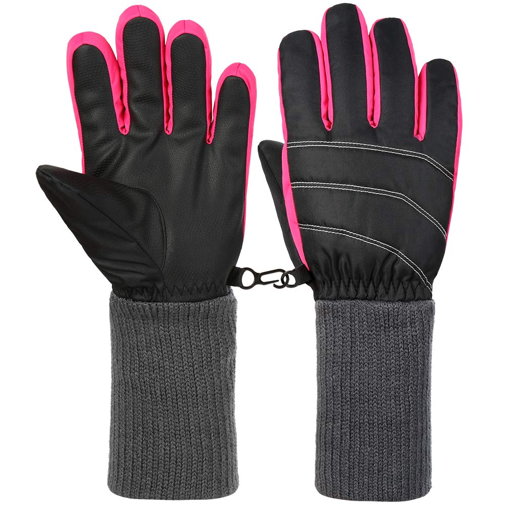 fef628020db356 Vbiger Ski Handschuhe Skating Handschuhe Warm Winter Handschuhe Verdickt Kalt  Wetter Handschuhe Beiläufig Outdoor Sports Handschuhe Winddicht Geeignet  für ...