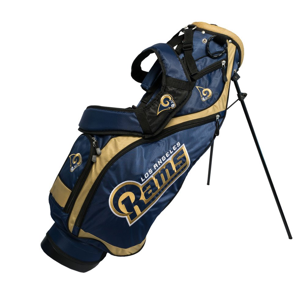 Team Golf 32527 St. Louis Rams NFL Nassau Stand Bag