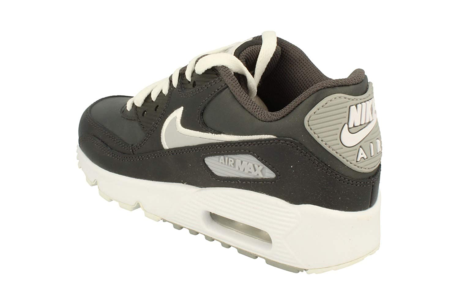 quality design 2e824 aac43 Amazon.com   Nike Youth Air Max 90 Leather Trainers   Fashion Sneakers