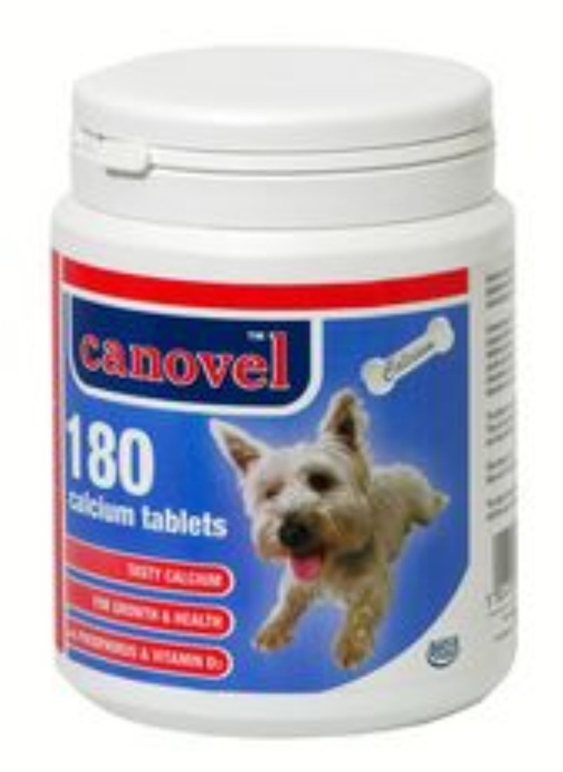 Canovel Hatchwell Dog & Cat Calcium 180 Tablets