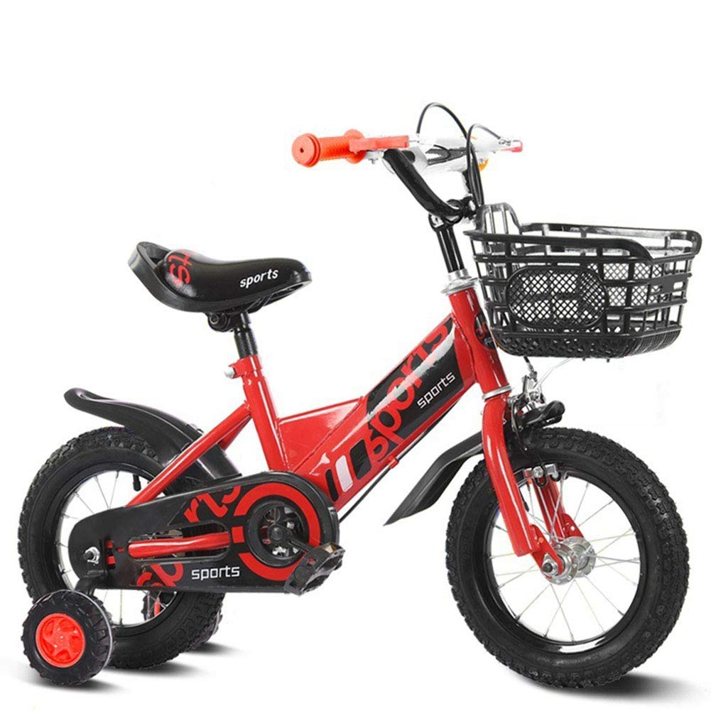 costo real rojo Bicicleta Infantil niño y niña     12 14 16 18 Pulgadas   A Partir de 3 años   V-Brake y Freno de contrapedal   12  14  16  18  Modelo BMX 2019 12IN  exclusivo