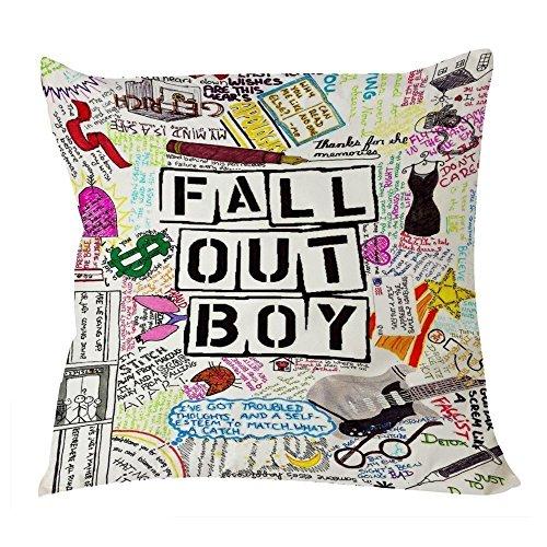 Fall Out Boy Fun Art Quotes7 Pillow Case