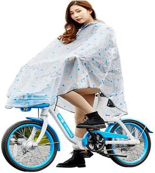 Hongyuantongxun Impermeable, Impermeable Capa de Bicicleta Hombre ...