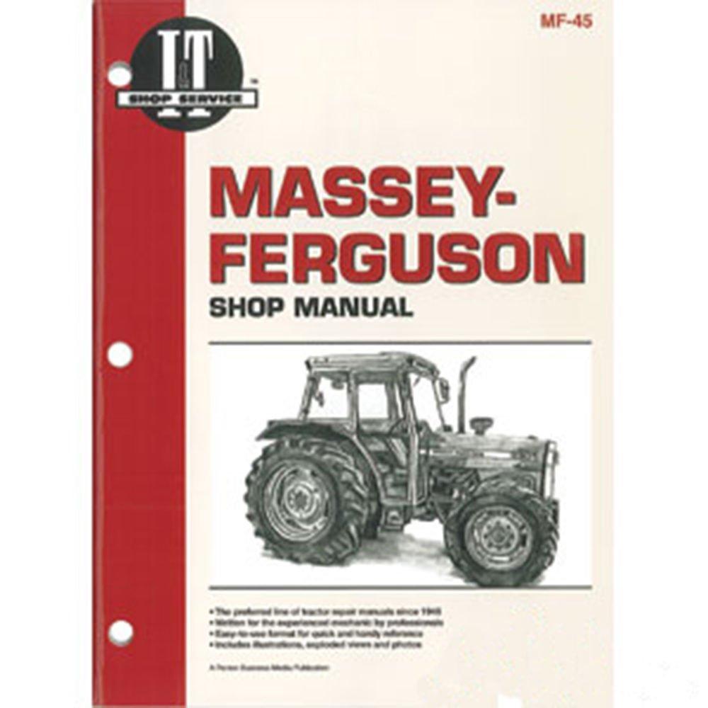 Amazon.com: SMMF45 New Massey Ferguson MF Tractor Shop Manual 362 365 375  383 390 390T 398: Industrial & Scientific
