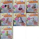 Daiso Japan needle felting animal kit 7 set Wool Felt from Japan Free shipping ;GE5812-GJY/4E1D213783