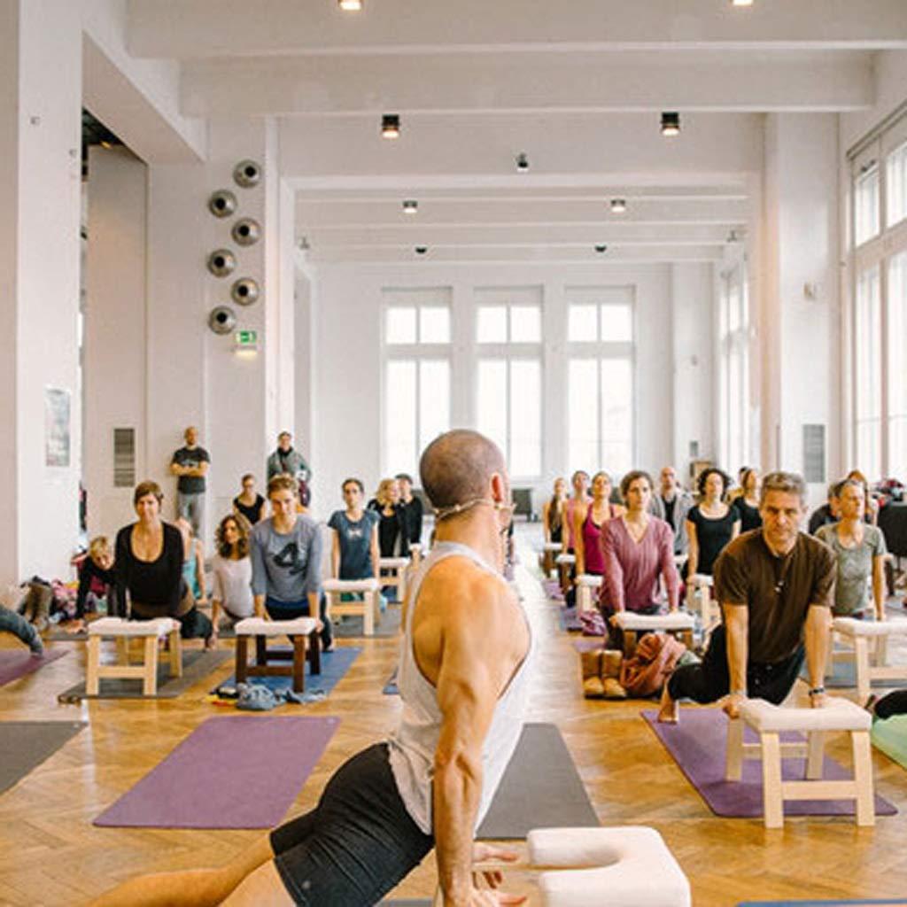 Silla de yoga para madera Banco de soporte para la cabeza ...