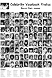 CELEBRITY YEARBOOK PHOTOS POSTER Amazing RARE HOT NEW 24x36