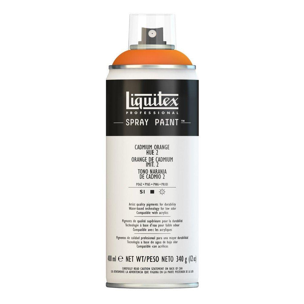 Liquitex プロフェッショナル スプレーペイント 12オンス 400ml Can オレンジ 4452720 B008LUIYIQ Cadmium Orange Hue 2 Cadmium Orange Hue 2