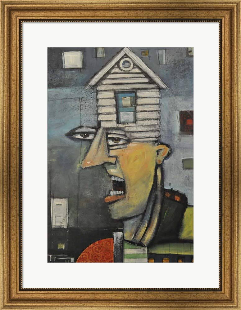 Amazoncom Head Of The House By Tim Nyberg Framed Art Print Wall