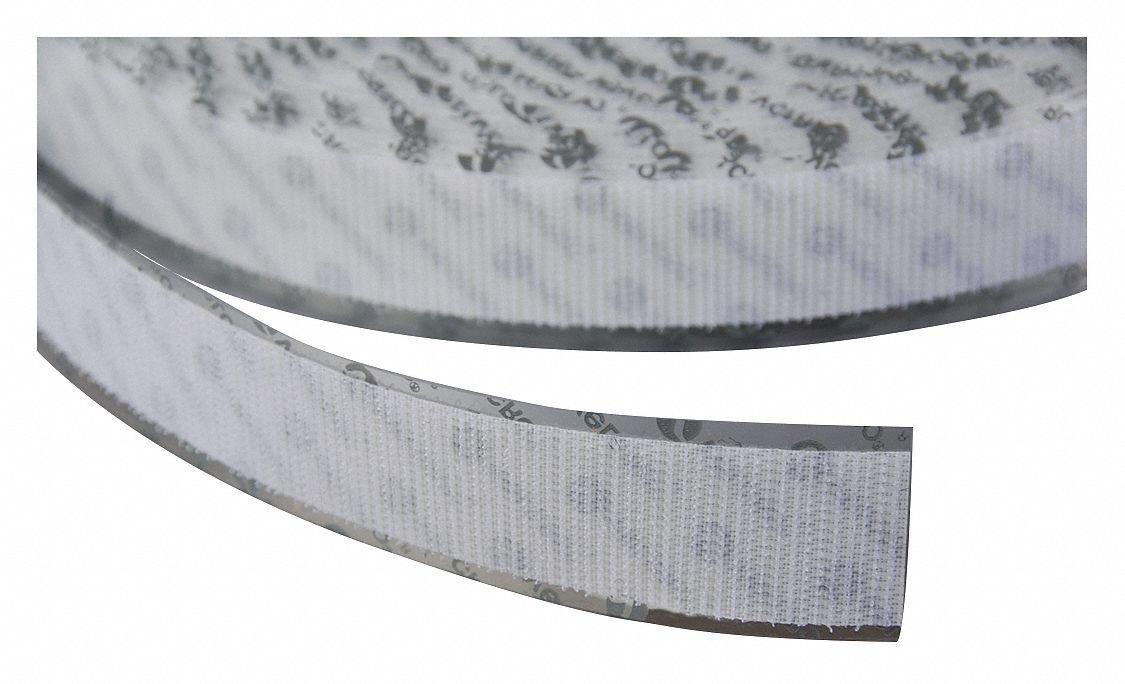 VELCRO Brand Hook 88 PSA 72 - 25 Yard Roll 2'' Wide, White by VELCRO Brand