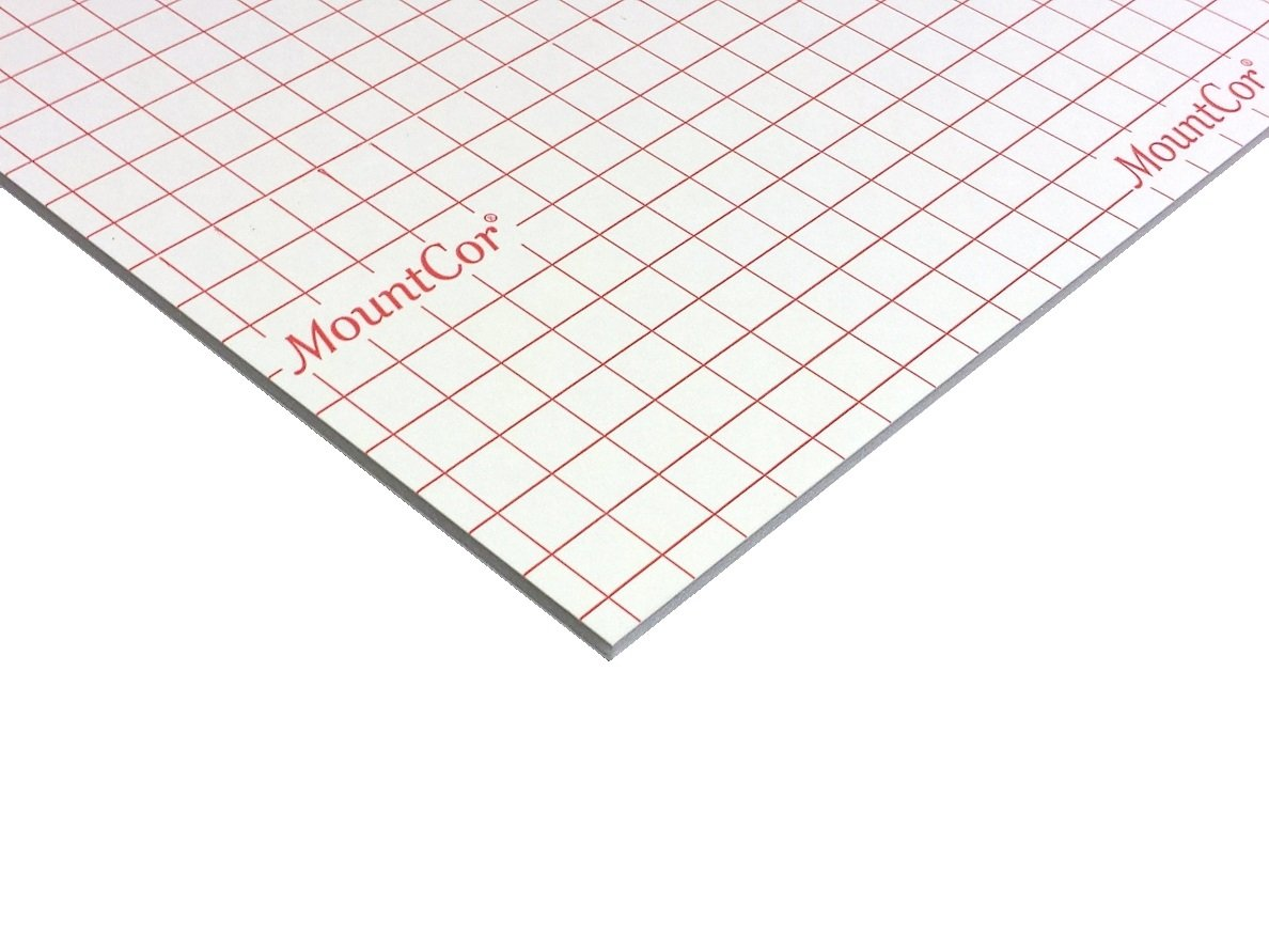 MountCor Heat Adhesive Foam Board - White - 32''x40'' (25)