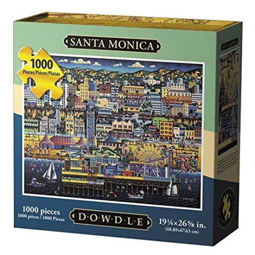 Dowdle Santa Monica 1000 Piece Puzzle