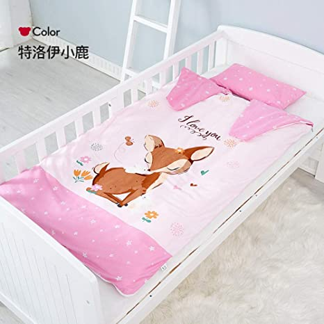sacos de dormir para niños Saco de dormir para niños edredón antideslizante para niños otoño e invierno edredón de algodón grueso saco de dormir 90 * 150 cm dormir: Amazon.es: Bebé