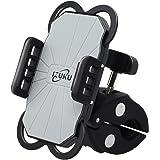 IZUKU Fahrrad Handyhalterung Kratzschutz 360°Drehbarem Halterung Motorrad für die Smartphone(Breite:5,0cm - 9,2cm)