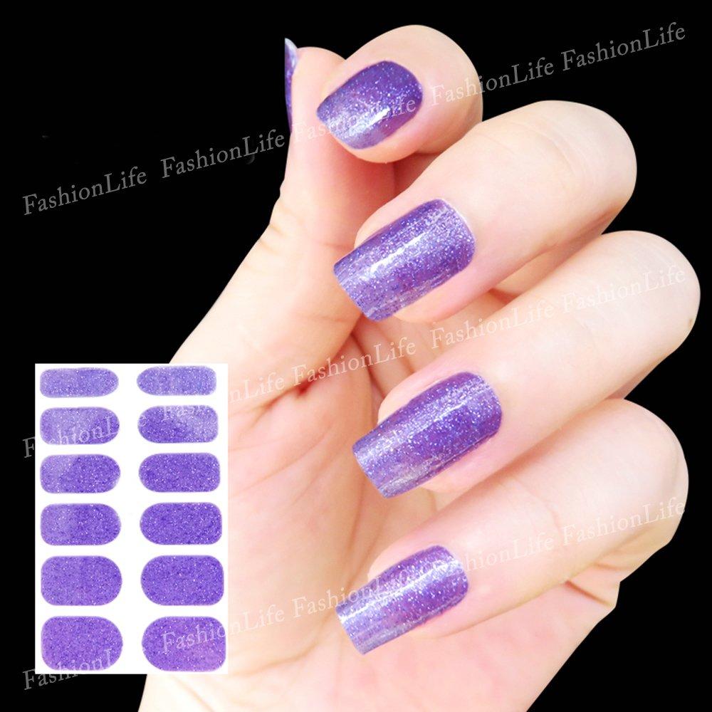 feuille complète de stickers au couleurs de l'espace pour la décoration des ongles - Noir Nail Sticker Tattoo - FashionLife