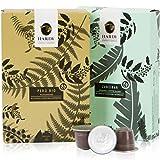 Nespresso Compatible Capsules – Hardy Caffé, est. 1954 – Italian Espresso Variety Pack (Organic Varieties, 20 Pods)