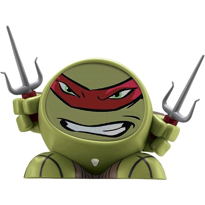 Teenage Mutant Ninja Turtles Raphael Rechargeable MP3 Smartphone Speaker (TM-M66R)