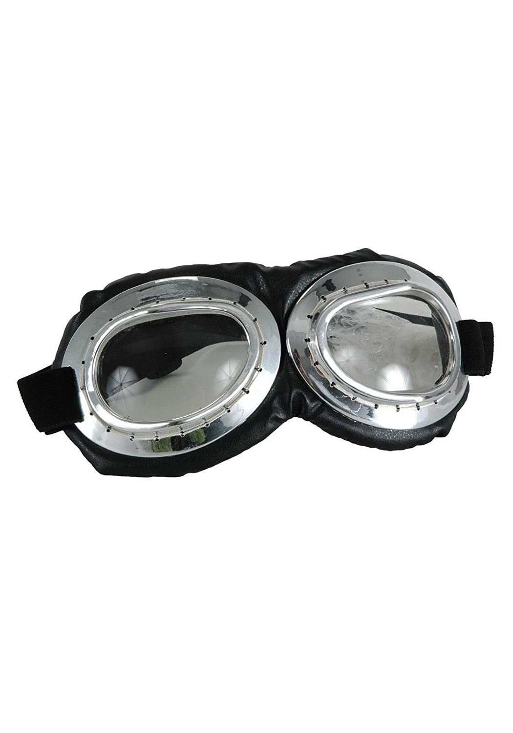 Aviator Goggles Silver elope Aviator Goggles Getting Fit 618480283013