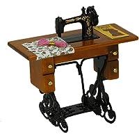 SODIAL(R) Maquina de coser miniatura de la vendimia