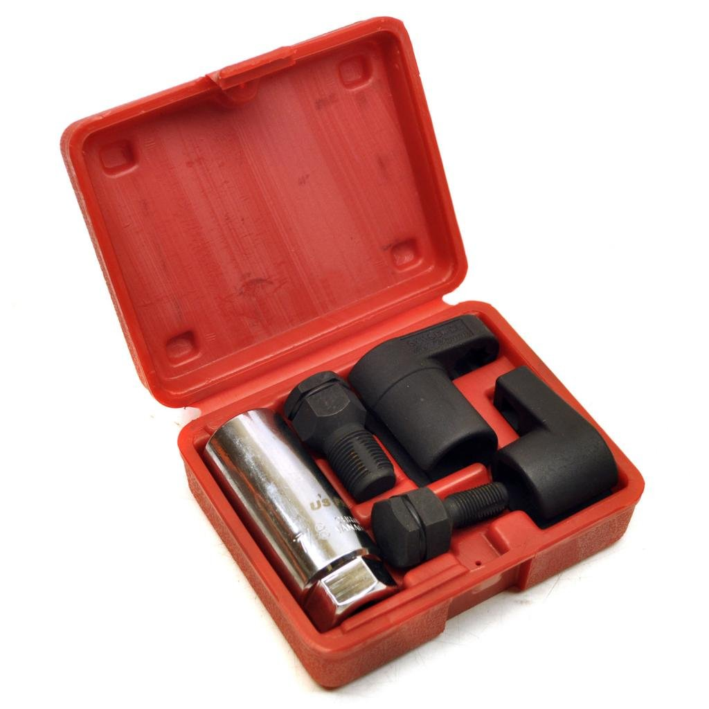 SUPERTOOLS Oxygen Sensor Socket With Thread Chaser Tool Set TP1165 by SUPERTOOLS (Image #1)