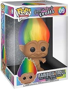 "Funko Pop! Trolls: Trolls Classic - 10"" Troll Multicolored Hair (Styles May Vary)"