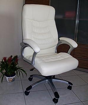 ITALFROM Sillón Oficina direccional sillones Silla Miriade Beige: Amazon.es: Hogar