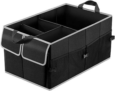 AmorFA Car Boot Organiser,Auto Trunk Organizer for Car Car Trunk Boot Organisers for SUV Truck,Collapsible Car Cargo Storage Organizer