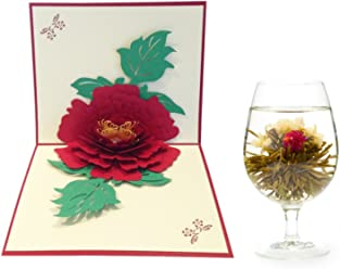 3D Pop-up Greeting Cards, Magic Gift Cards, Unique Greeting Idea, Blooming Tea and Greeting Card, Get Well Cards, Christmas Cards, Greeting Cards S (3)