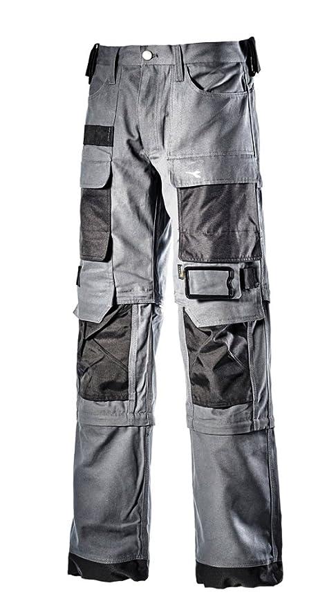 79b8bcb16c1d8 Pantaloni da lavoro Diadora Utility VIG - serie Extreme taglia 3XL colore  Grigio Cielo Inverno  Amazon.it  Fai da te