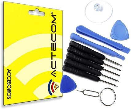 actecom® Kit Herramientas REPARACION MOVIL Consola Tablet 11 EN 1 ...
