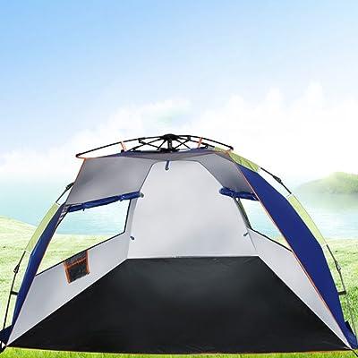TY&WJ Tente De Camping Voyage Tentes Dôme Lecteur Rapide Tente Exterieure Plage Montage Facile 4 Saisons 2 Personne